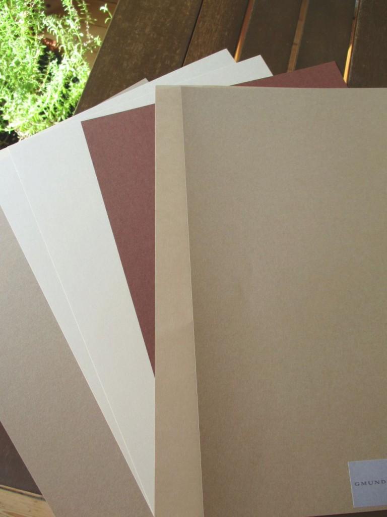 Papier-Auswahl